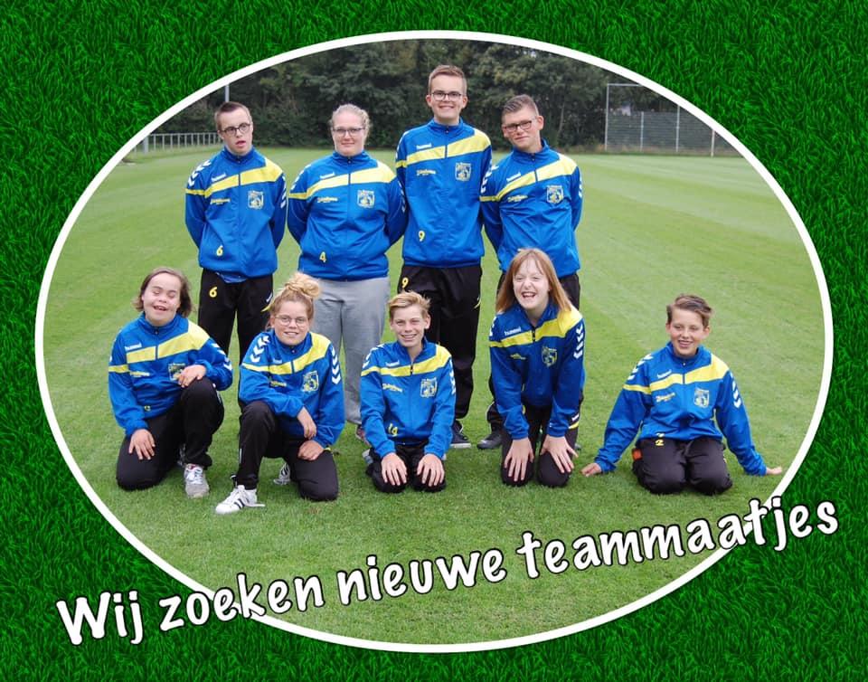 Nieuwe teamleden gezocht voor onze G-jeugd!